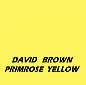 DAVID BROWN PRIMROSE YELLOW Machinery Tractor & Agricultural Enamel Gloss Paint