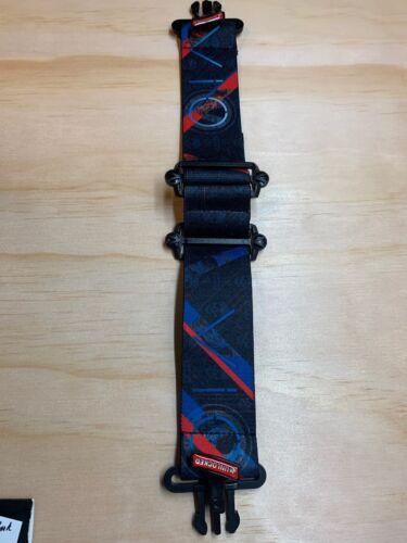 NEW Virtue VIO Goggle Strap SKULL PUNK BLUE //RED