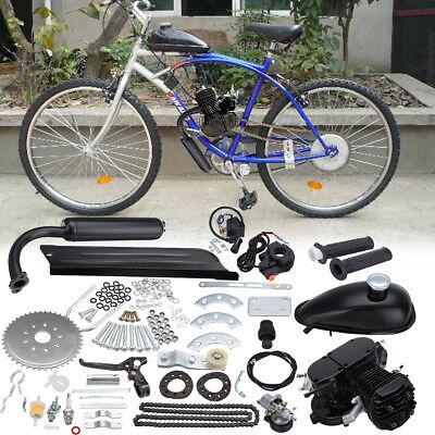 """50CC 2-stroke Cycle Motor Moteur Kit pour Vélo de montagne Motorisé Vélo 26/"""" 28/"""""""