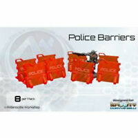 Infinity Miniature Accessories: Police Barriers Awi10013