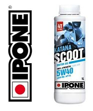Huile IPONE 5W40 5.4 100% Synthese 4T scooter PEUGEOT Satelis 125 HONDA PCX SH