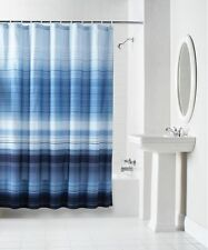 Ombre Shower Curtain Polyester Fabric Water Repellent Bathroom Home Design Decor
