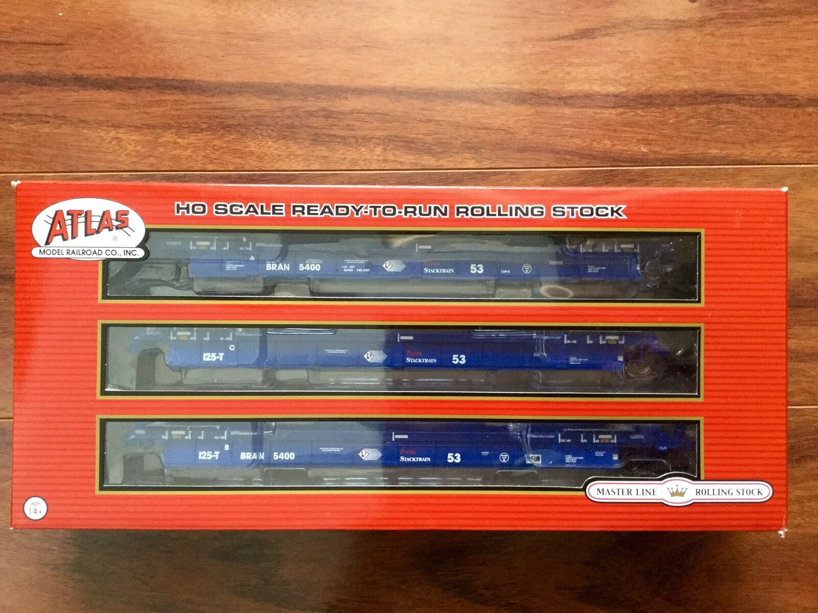 ATLAS 1 87 HO PACER THRALL 53' ARTICULATED WELL CARS   20002842 FACTORY SEALED