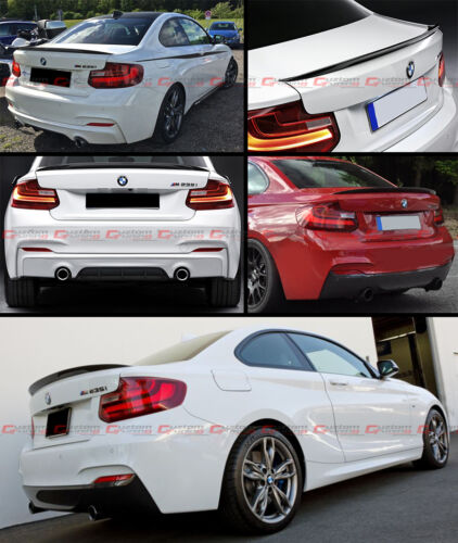 PERFORMANCE STYLE CARBON FIBER TRUNK LID SPOILER FOR 2014-2018 BMW F22 2 SERIES