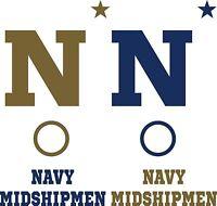 Navy Midshipmen Cornhole Board Decal Set Of 6 Vinyl Decals Corn Hole Sticker Kit