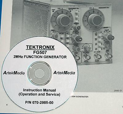TEKTRONIX  FG507 FG-507  Operating /& Service Manual
