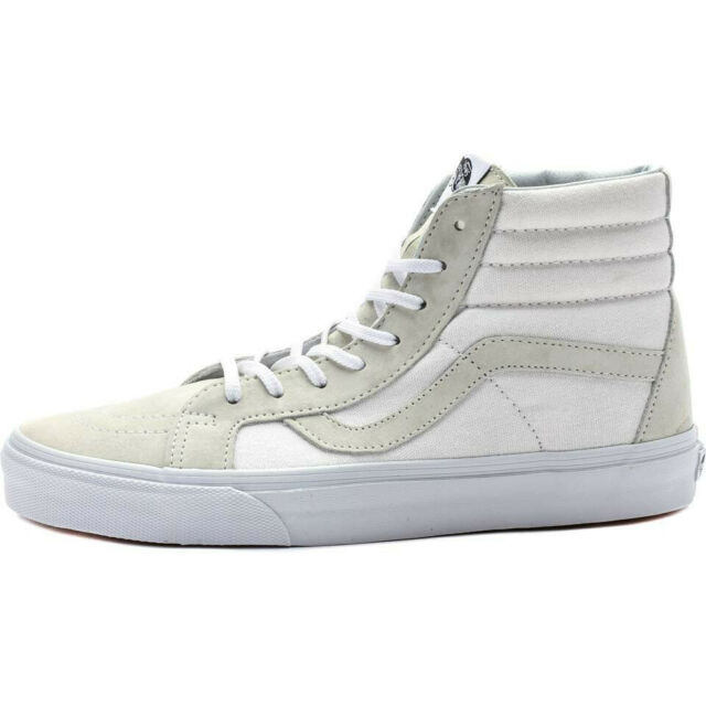 dfd9dc6608 VANS Sk8-hi Reissue Ca Men US 9.5 Ivory Skate Shoe NWOB 1580 for ...