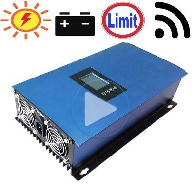 Alert 1000w Gitter-wechselrichter Mit Limiter Für Sonnenkollektoren / Batterie Wi-fi Good Taste