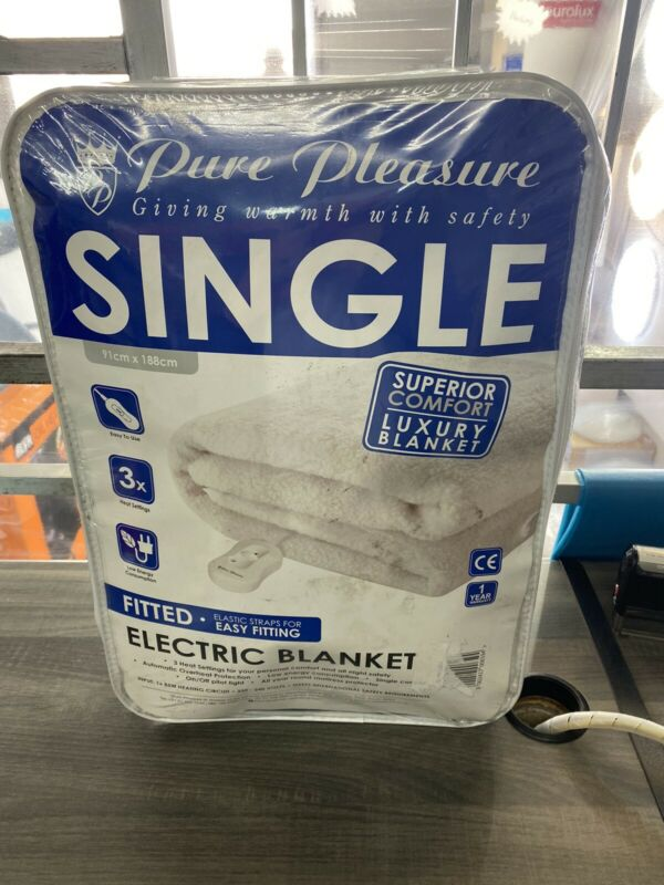 Single Fitter Electric Blanket