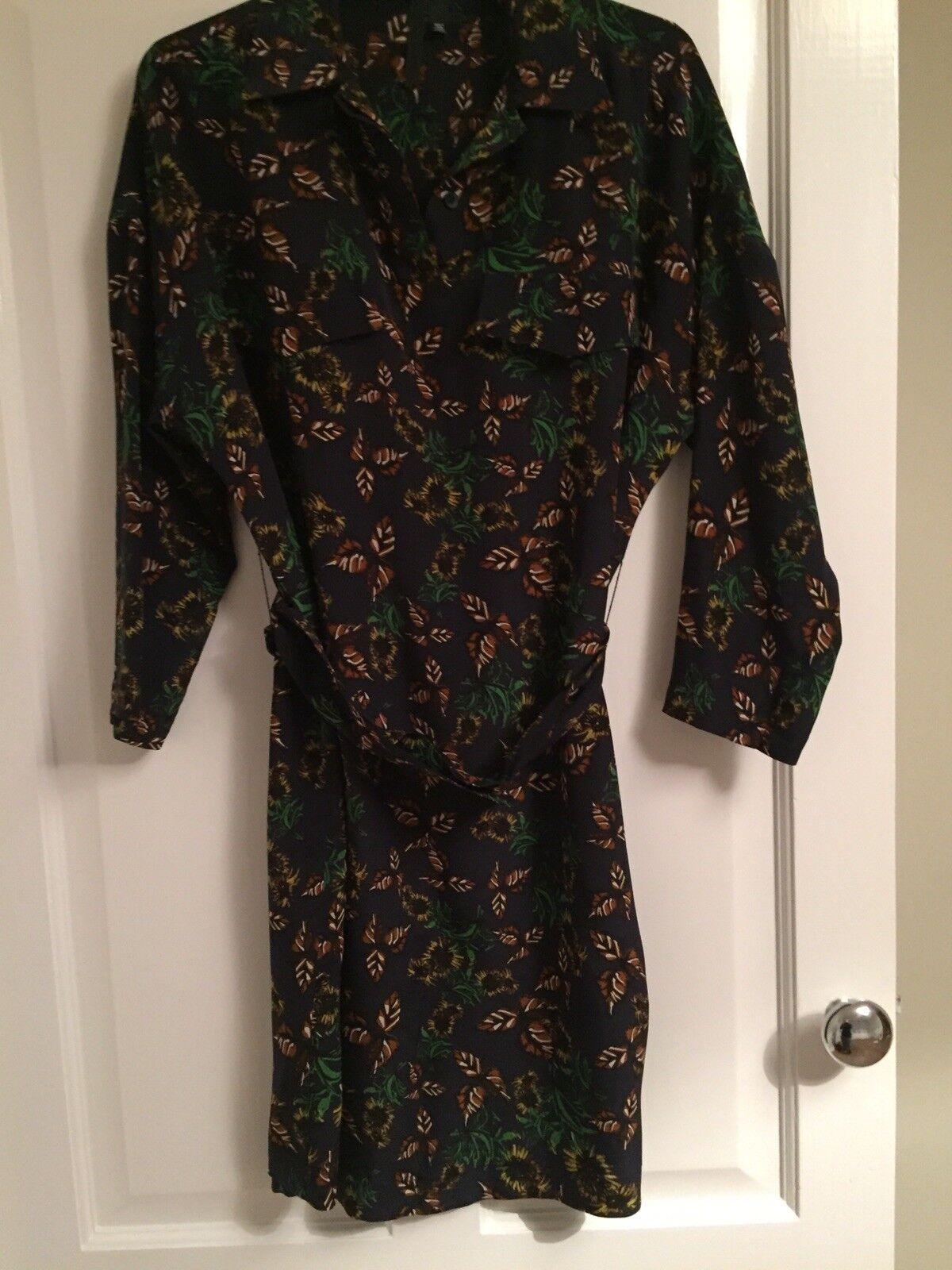 Topshop Boutique Silk Dress 6