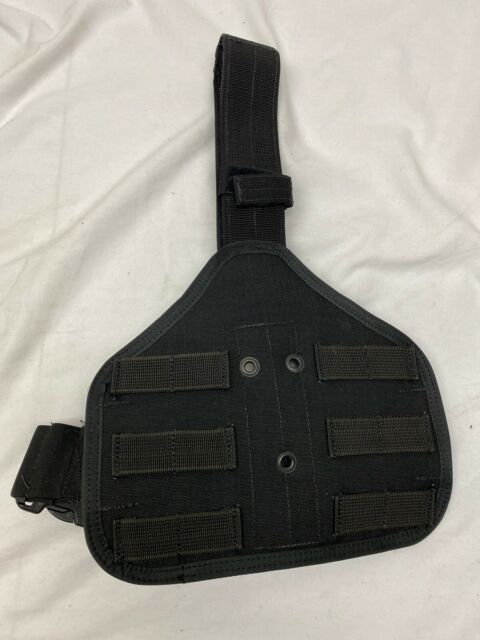 x4 Eagle Black SAS Safariland 6004 Holster Platform MOLLE LE Duty Kydex