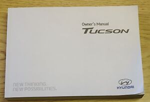 Details about GENUINE HYUNDAI TUCSON 2014-2018 OWNERS MANUAL HANDBOOK  MULTIMEDIA AUDIO BOOK