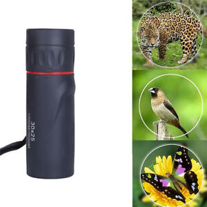 30x25HD Optical Single Tube Telescope Night Vision Waterproof For Travel Hunting