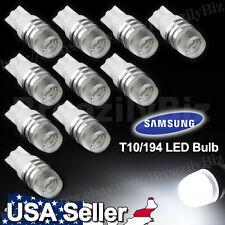 10 pcs Super White High Power T10 Wedge SAMSUNG LED Light Bulbs