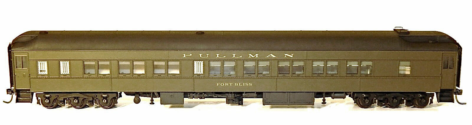 Ahorre 35% - 70% de descuento Boston & Maine Fort Bliss-Fort Slocum HO Modelo Del FerroCocheril FerroCocheril FerroCocheril sin pintar KIT BC1306  comprar mejor