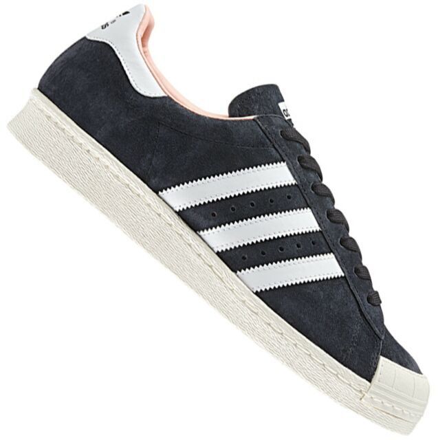 70e42217637f adidas Originals Superstar 80s Halfshell Shoes Leather Trainers Black 37  1 3 for sale online
