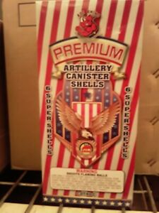 Firework Labels Red Rhino Brand Premium Artillery Box And 6 Labels