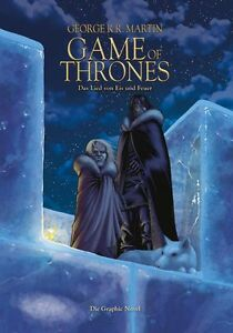 GAME-OF-THRONES-2-VZA-VARIANT-HARDCOVER-signed-Artprint-GEORGE-R-R-MARTIN-99-Ex