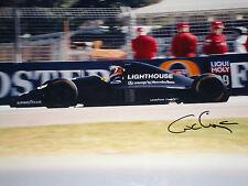 Karl Wendlinger SIGNED F1 Sauber-IImor C12 , Australian Grand Prix Adelaide 1993