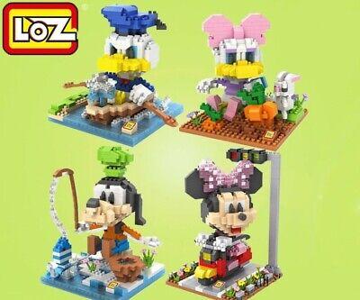 Disney Minnie Mouse BLOCK Micro Mini Building Nano Block LOZ Iblock a F01