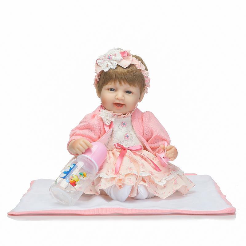 17  likelife Niño Reborn Bebé niñas Muñeca De Juguete Regalos de vinilo recién nacido acompañar a Reino Unido