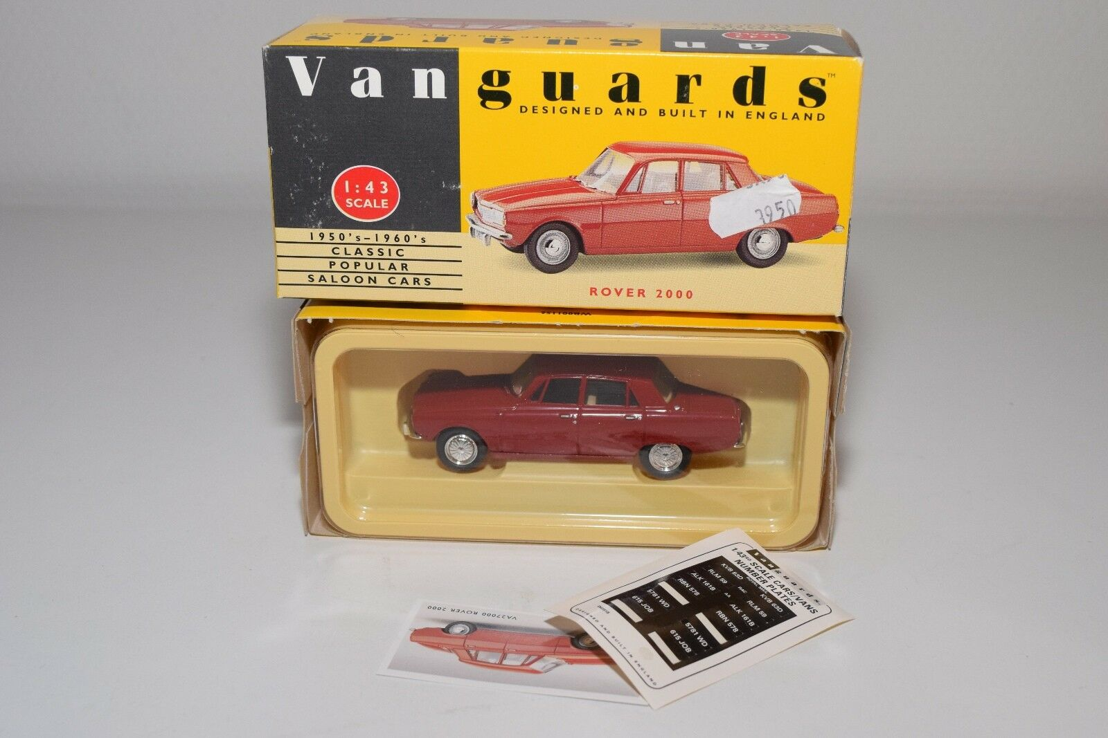 VANGUARDS VANGUARDS VANGUARDS VA27000 ROVER 2000 RED MINT BOXED 397acc