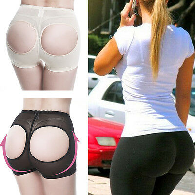 LOW RISE INVISIBLE BOOTY BRA LIFT BUTT LIFTER  BOYSHORTS TUMMY SHAPER PANTY