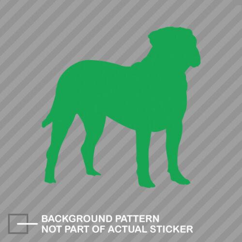 Bullmastiff Sticker Die Cut Decal dog canine pet