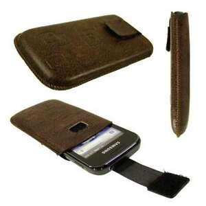 caseroxx-Slide-Etui-fuer-Samsung-S5660-Gio-in-braun-aus-Kunstleder