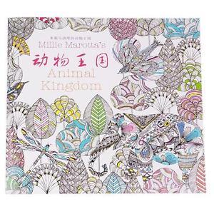 Image Is Loading New Ver Secret Garden Animal Kingdom Coloring Book