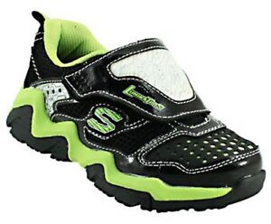 d669e9ba7715 SKECHERS S-LIGHTS LUMINATORS Boys Youth Light-Up Athletic Shoes ...