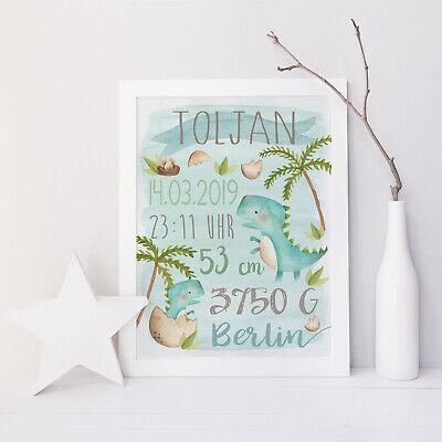 Namensbild DOODLE GIRL Geschenk, Geburt, Taufe Geburtsanzeige Geburtsbild