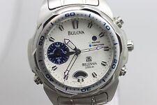 Original Bulova Millennia Quartz Wristwatch Men's Watch For Repair