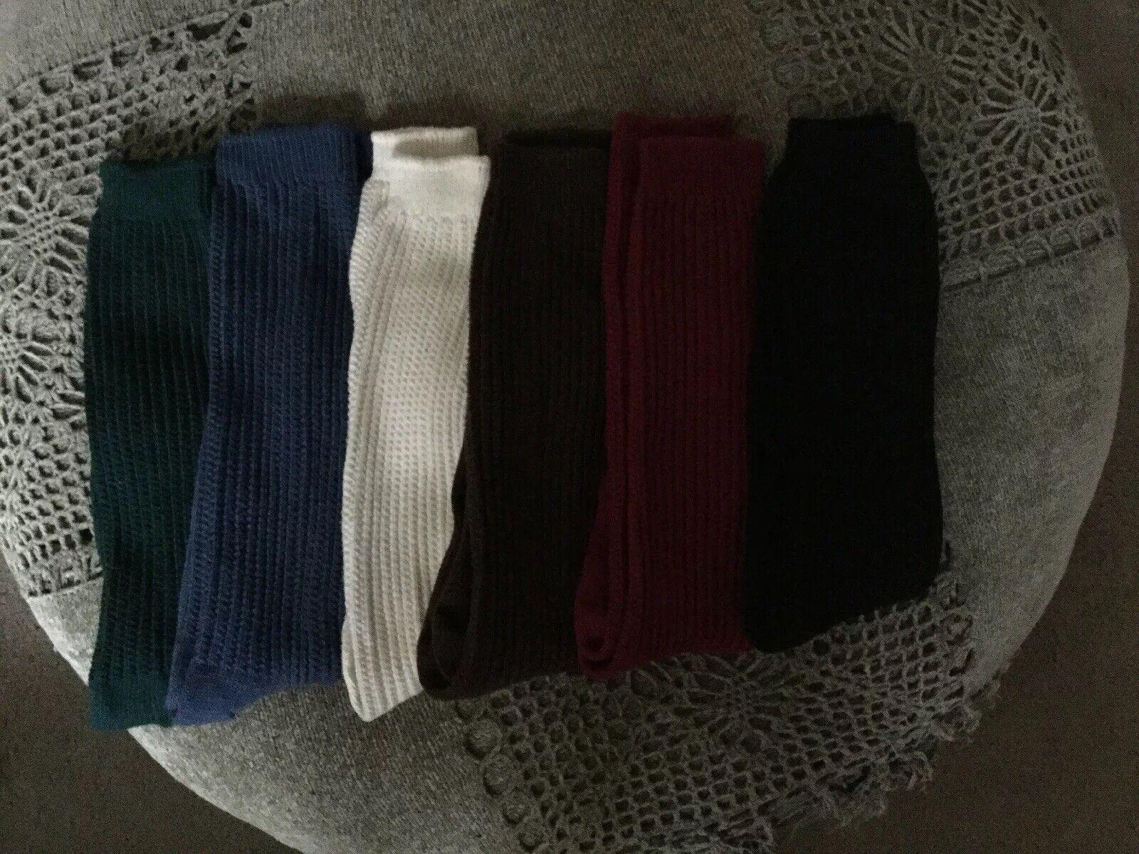 Bell Socks womens Drop Stich Ruffles Knee High Casual Sock K