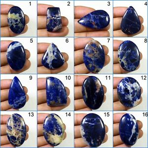NATURAL-BLUE-SODALITE-CABOCHON-TOP-QUALITY-LOOSE-GEMSTONE-VARIATION-SD-A