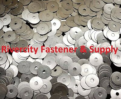 1000 #10x1-1//4 Washers Stainless Steel 10 x 1-1//4 Large OD Washer