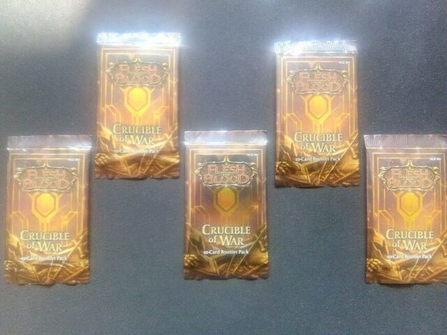 Flesh & Blood: Crucible Of War 1st Edition Booster Pack