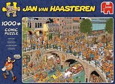 JUMBO JIGSAW PUZZLE KING'S DAY JAN VAN HAASTEREN 1000 PCS CARTOON #19054