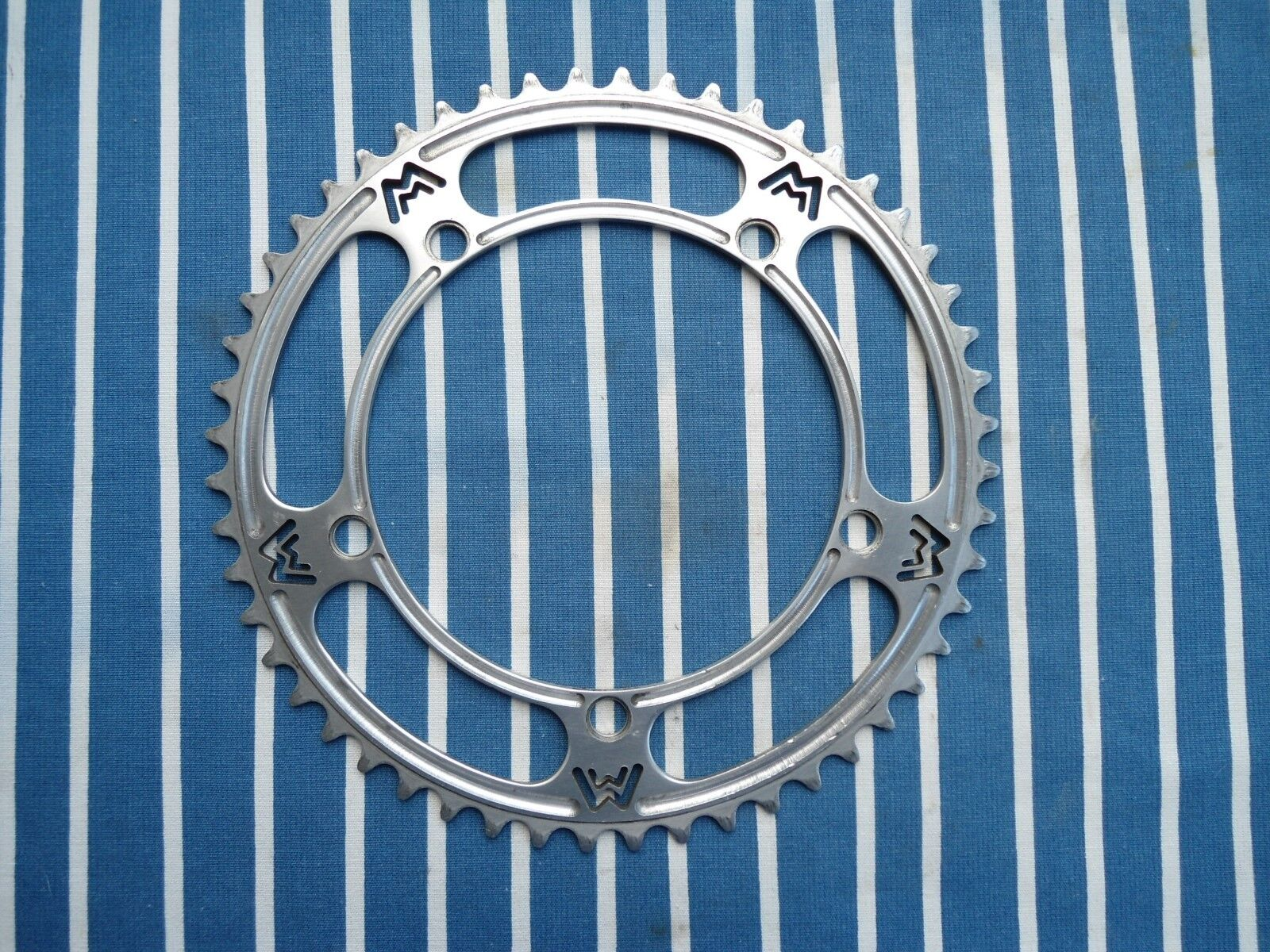Campagnolo Morini pantographed and milled chainring in VGC