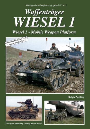 Tankograd NEU/& 5022 Waffenträger WIESEL 1