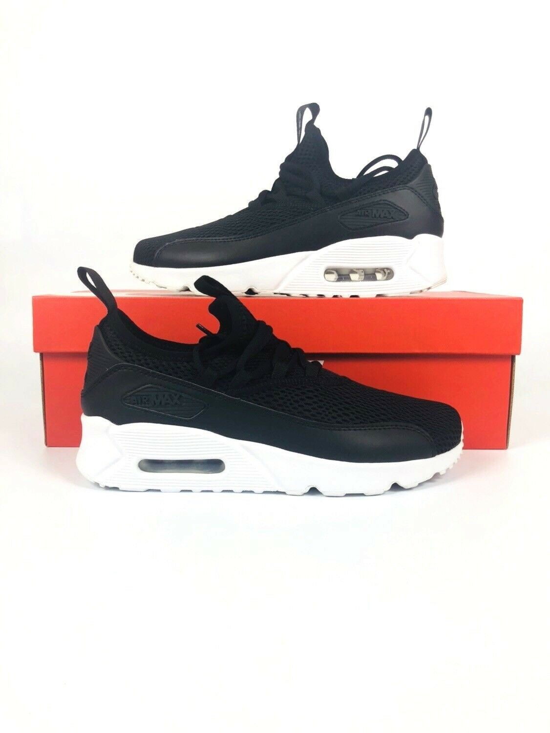 reputable site 2d3f4 e6408 Nike Air Max 90 EZ GS Black White Kids Kids Kids Youth Running Shoes  AH5211-005 b4cce2