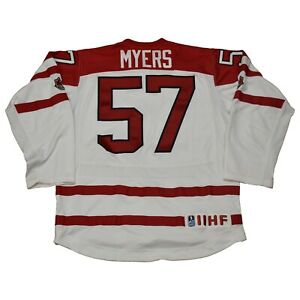 Team-Canada-Jersey-Tyler-Myers-of-the-Sabres-Winnipeg-Jets-Vancouver-Canucks