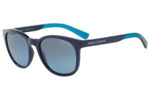 d3735a8604 Nwt Gradient Armani 4050s Ax 81878f Blue Exchange Sunglasses PnkX80wO
