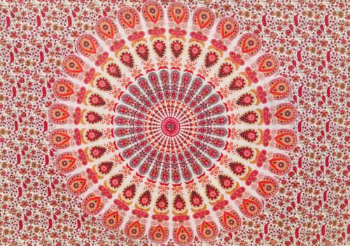 Indian Tapestry Wall Hanging Mandala Throw Hippie Bedspread Gypsy Cover Bohemian