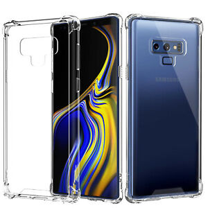 For-Samsung-Galaxy-S7-S8-S9-S6-Case-Coque-en-Silicone-Protective-Clear-Gel-Cover