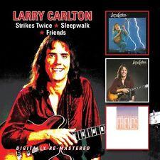 Larry Carlton - Strikes Twice / Sleepwalk / Friends [New CD] UK - Import