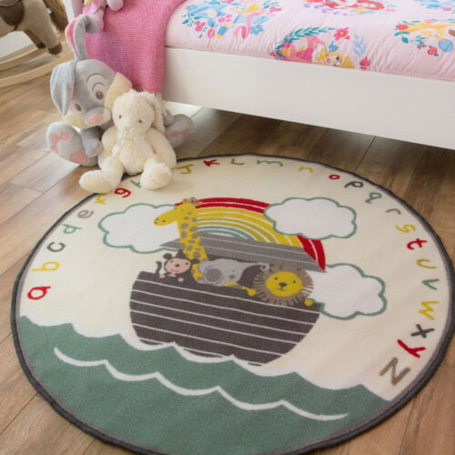 Kids Nursery RugsRound Childrens Bedroom MatsCheap Circle Storytime Rug