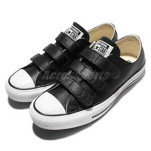 aae098ca6702 Converse Chuck Taylor All Star V3 Strap Leather Black White Men ...