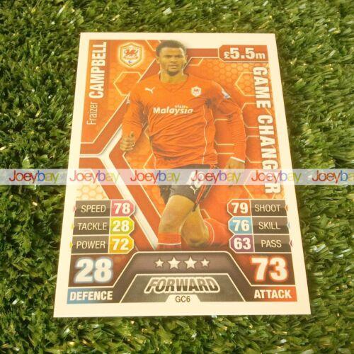 13//14 match attax extra homme du match changeurs de jeu carte 2013 2014