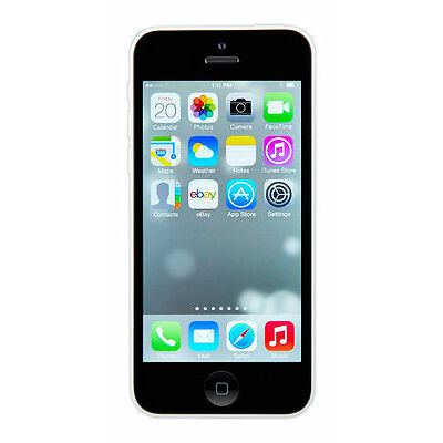 New Factory Unlocked Apple iphone 5C white 16GB phone with $98 GIFT+1yr.Warranty